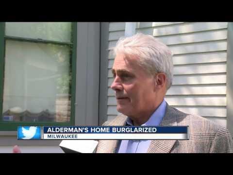 Milwaukee alderman's home burglarized