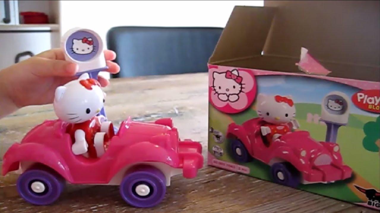 Hello Kitty Speelgoed Uitpakken Met Duplo Auto Youtube