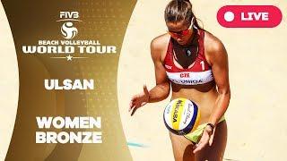 Ulsan 1-Star  - 2018 FIVB Beach Volleyball World Tour - Women Bronze Medal Match