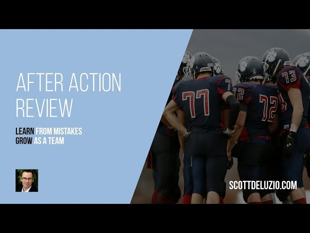 003 - After Action Review