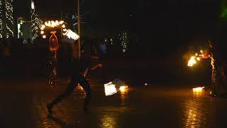 Superb fire dance by russian girls at Prem mahal karur  #firedance #youtubevideo #bellydance #dance