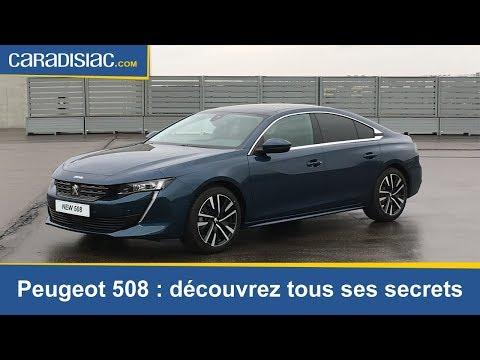 Présentation - Peugeot 508 : tous les secrets de la nouvelle berline du Lion
