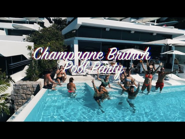 KATA ROCKS CHAMPAGNE BRUNCH POOL PARTY 🍾✨