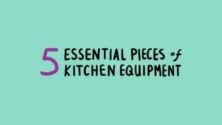 Chewing the Fat: Alton Brown's 5 Essential Pieces of Kitchen Equipment