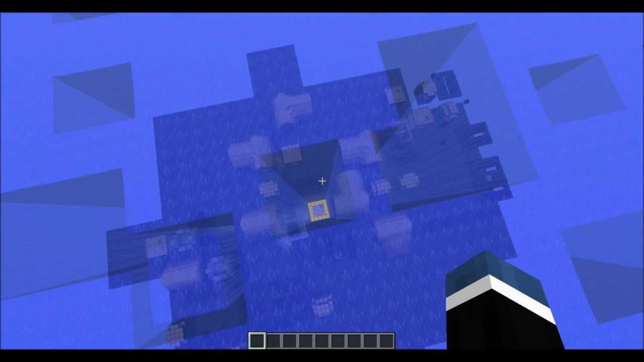 Minecraft Underwater Village Youtube