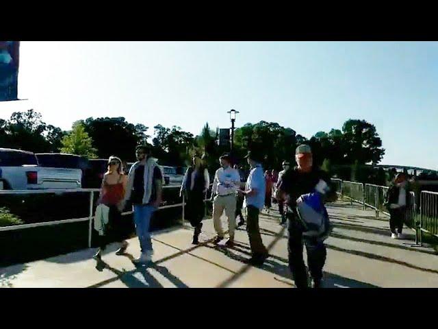Atlanta Braves Baseball Game Street Preaching - Suntrust Park - Kerrigan Skelly PinPoint Evangelism
