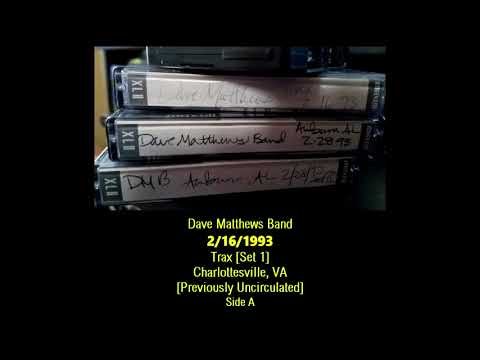 2 New/Previously Unknown 1993 DMB Shows - 2/16/93 Trax & 2/27/93 Auburn
