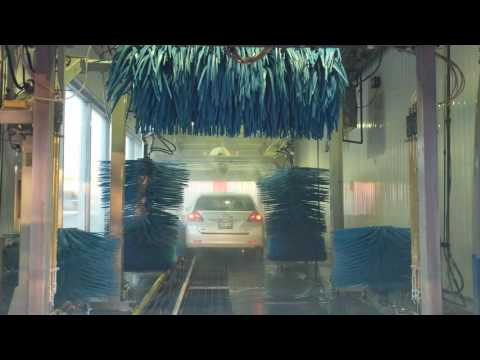 Automated Car Wash At Petro Canada Gas Station In Toronto [4K]