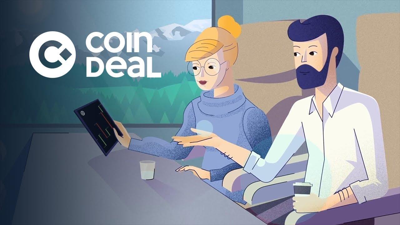 CoinDeal Kryptowährungsbörse