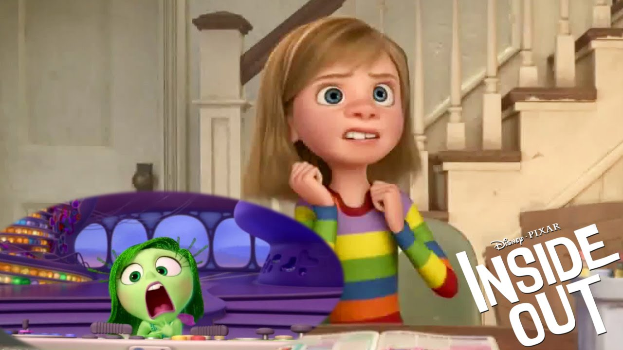 INSIDE OUT - Get to know your emotions: Disgust (2015) Pixar Animated Movie HD - YouTube