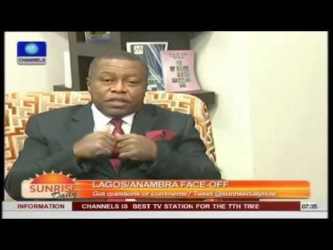 Don't Deport Citizens, Aka Ikenga Urges Fashola Pt.1