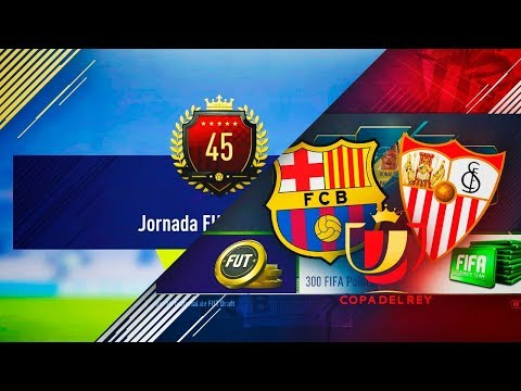 SEVILLA VS BARCELONA FUT DRAFT + RECOMPENSA TOP 100 FUT CHAMPIONS !!