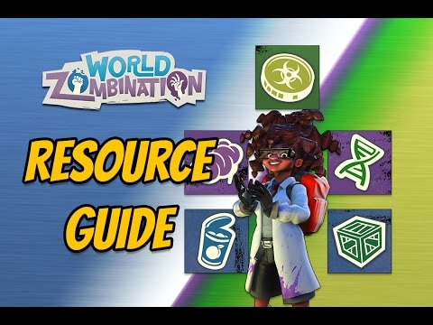 World Zombination Resource Guide: How to get Cans, Crates, DNA, and Brains in World Zombination