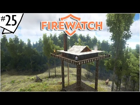 Firewatch Tower Building Tutorial :: Ep. 25 :: Ark: Survival Evolved :: Forestry Lookout Build Guide