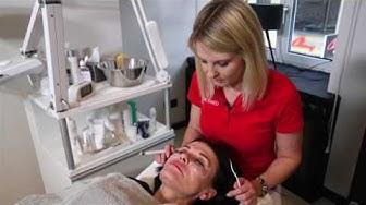 Radiofrequenzbehandlung im Gesicht