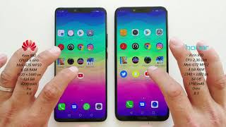 Huawei Mate 20 Pro vs Honor Play - Speed Test!