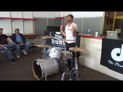 Jamie Wollam - Drum Clinic - Stebal Drums - 5/20/17