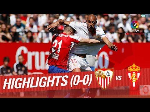 Resumen de Sevilla FC vs Sporting de Gijón (0-0)