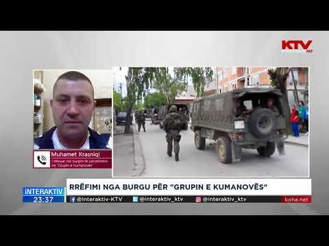 Biseda Interaktiv - Muhamet Krasniqi - Grupi i Kumanovës 07.12.2018