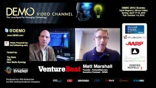 Matt Marshall, VentureBeat / DEMO - Discusses DEMO Spring 2012