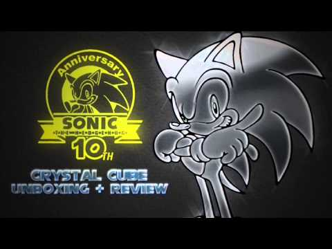 TEASER: Sonic 10th Anniversary Crystal cube review