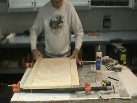 How To Make A Flat Panel Cabinet Door Youtube