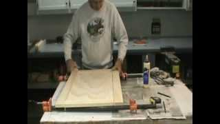How To Make A Flat Panel Cabinet Door