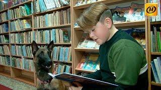 Больше, чем друг! Собаки учат детей читать  и слушают сказки в Бресте
