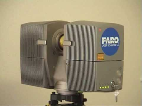 faro laser scanner ls880 van ergo design b v te enschede youtube. Black Bedroom Furniture Sets. Home Design Ideas