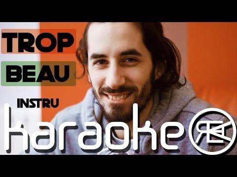 Lomepal - Trop Beau | Karaoké Paroles, Instru