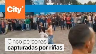 A cuchillo se enfrentaron algunos asistentes a Hip Hop al Parque