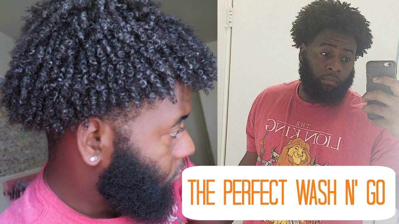 How To Get The Perfect Wash And Go Curls My Full Wash And