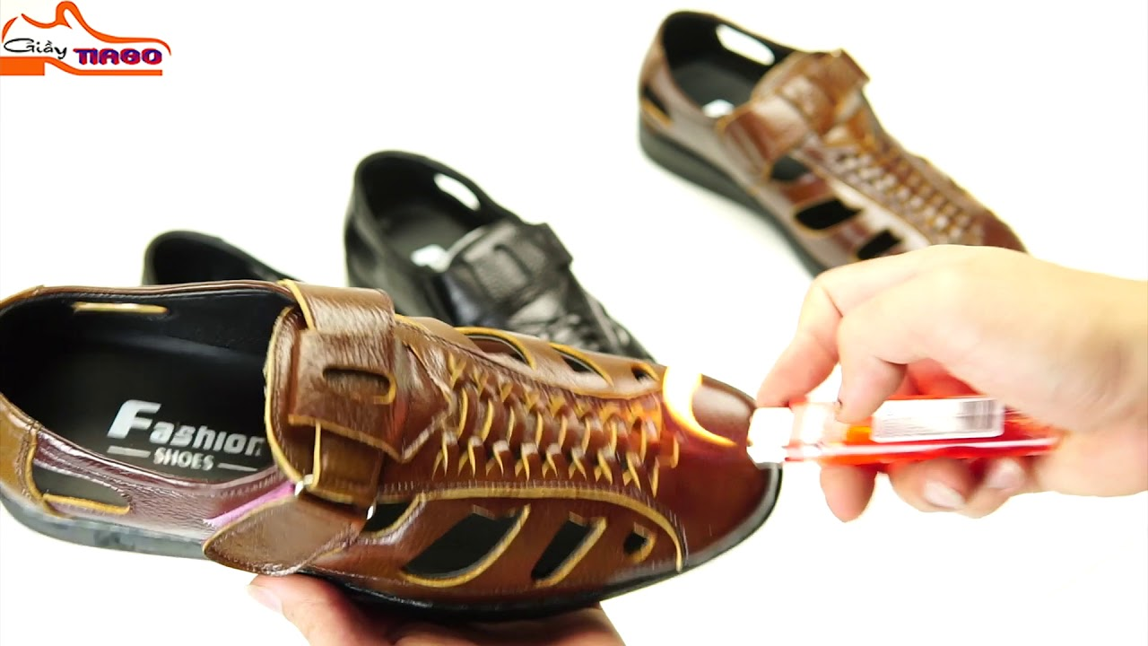 giày rọ nam thoáng khí