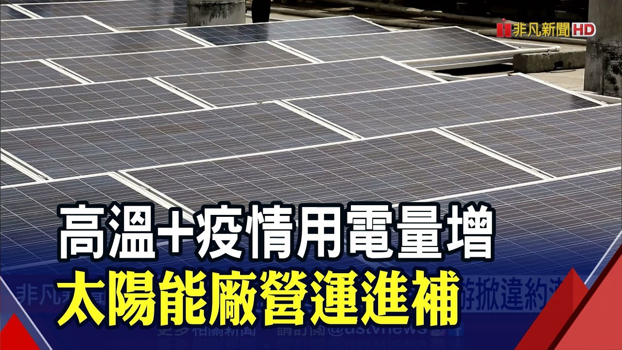 太陽能模組廠本季擬漲15-25% 下游廠掀違約潮?|非凡財經新聞|20210621