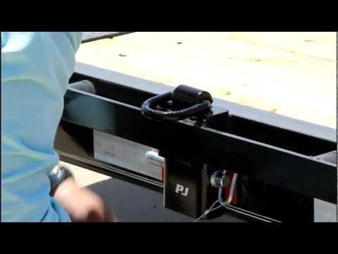 Stake Pocket D-rings by PJ Trailers