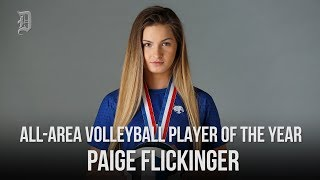 All-Area Volleyball Player of The Year: Paige Flickinger