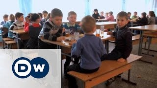 Украина: Дети войны мечтают о мире