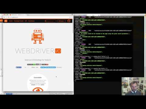 A look at the browser.execute command  - WebdriverIO Wednesdays