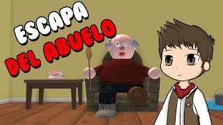 ESCAPE FROM THE ANGRY GRANDFATHER ? Roblox Escape Angry Grandpa