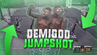 BEST JUMPSHOT  FOR ALL ARCHETYPES! 100% GREENLIGHT JUMPSHOT NBA 2K18! DEMIGOD JUMPSHOT