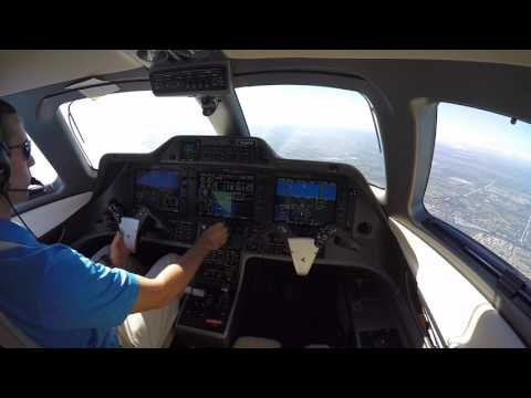 Phenom 100 Takeoff and Landing No Music