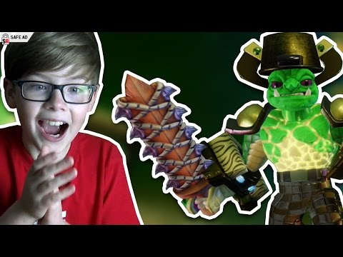 MEET TINY HEAD!! HE LIKES HUGS!! Skylanders Imaginators [AD]