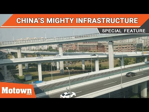 China's mighty infrastructure story - A brief look | Motown