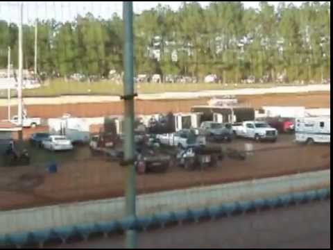 A Hobby Hot Laps and Heat Race North Georgia  Speedway 8/01/2015 Ralph Langston