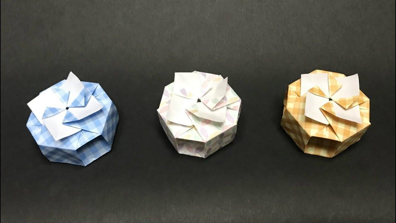 ORIGAMI CONSTRUCTIONS: origami octagonal box + folding ... | 720x1280