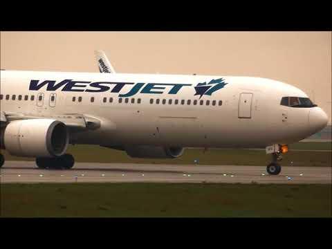 Plane spotting at Calgary Int'l Airport YYC May17, 2018