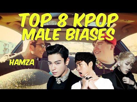 Top 8 // K-pop Male Biases // Hamza Editions