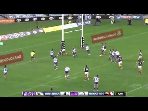 Bulldogs vs Roosters Full Match 15/05/15