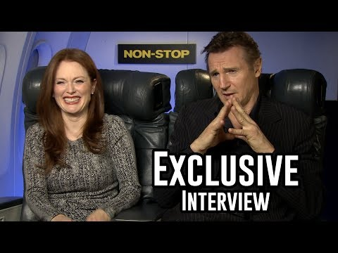 Julianne Moore and Liam Neeson Interview - Non Stop
