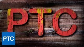 Photoshop Text Textures -  Creating a Paint Peeling Effect